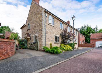 Thumbnail 3 bedroom semi-detached house for sale in Glebe Farm Close, Collingtree, Northampton