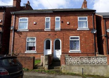 Thumbnail 2 bedroom semi-detached house for sale in Gladstone Street, Mansfield