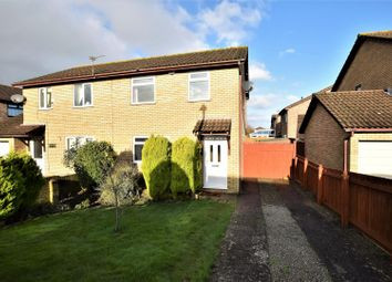 Thumbnail 3 bed semi-detached house for sale in Woodham Park, Barry