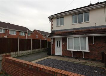 Thumbnail 3 bed semi-detached house to rent in Cleadon Road, Kirkby, Liverpool