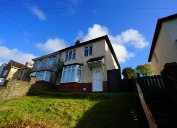 Thumbnail 3 bed semi-detached house to rent in Fernlea, Risca, Newport