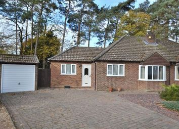 Thumbnail 3 bed semi-detached bungalow for sale in Richmond Close, Church Crookham, Fleet