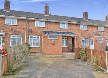Thumbnail 3 bed terraced house for sale in Rider Haggard Road, Norwich