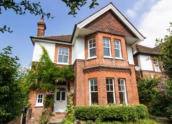 Thumbnail 5 bed detached house to rent in Effingham Road, Long Ditton