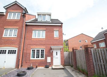 Thumbnail 4 bed town house for sale in Corbel Way, Monton