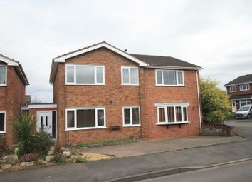 Thumbnail 4 bed detached house for sale in Oak Tree Close, Tamworth, Warwickshire