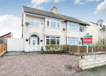 Thumbnail 3 bed semi-detached house for sale in Elgar Avenue, Eastham, Wirral