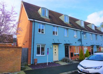 Thumbnail 3 bed end terrace house for sale in Farrow Avenue, Peterborough