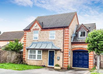 Thumbnail 4 bed detached house for sale in Orchard Close, Eaton Ford, St. Neots