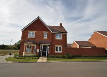 Thumbnail 4 bed detached house for sale in Brickwharf Drive, Worcester