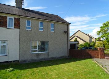 Thumbnail 3 bed semi-detached house for sale in Bron Y Felin, Llangefni, Ynys Mon