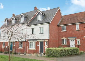 Thumbnail 4 bed terraced house for sale in Cromwell Road, Dunmow, Essex