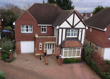 Thumbnail 4 bed detached house for sale in Griffins Close, Winchmore Hill
