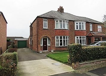 Thumbnail 3 bed semi-detached house for sale in Crosby Road, Northallerton