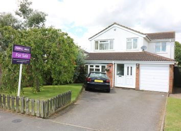 Thumbnail 4 bedroom detached house for sale in Kirkby Road, Desford