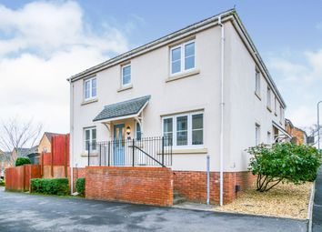 Thumbnail 3 bed semi-detached house for sale in Plorin Road, North Cornelly, Bridgend