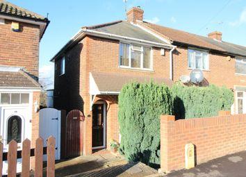 Thumbnail 2 bedroom end terrace house for sale in Pomfret Avenue, Luton