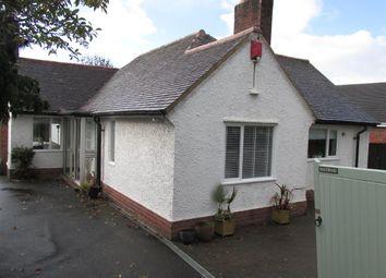 Thumbnail 4 bed bungalow for sale in Parkgate Road, Parkgate, Neston