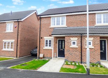 Thumbnail 2 bed semi-detached house to rent in Buxton Crescent, Broughton Astley, Leicester, Leicestershire