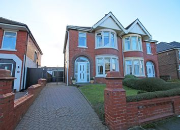 Thumbnail 3 bed semi-detached house for sale in Norfolk Avenue, Blackpool, Lancashire