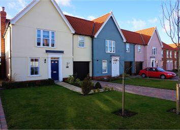 Thumbnail 3 bed end terrace house for sale in Strawberry Avenue, Manningtree