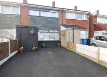 Thumbnail 3 bed town house for sale in Grasmere Road, Partington, Manchester