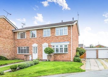 Thumbnail 3 bedroom end terrace house for sale in Scaife Road, Nantwich, Cheshire