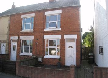 Thumbnail 2 bed end terrace house to rent in Dunton Road, Broughton Astley, Leicester