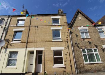 Thumbnail 3 bed terraced house for sale in Russell Street, Peterborough