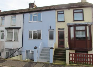 Thumbnail 3 bed terraced house to rent in Ingestre Street, Harwich