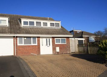 Thumbnail 3 bed semi-detached house for sale in 17 Veasy Park, Wembury, Plymouth, Devon