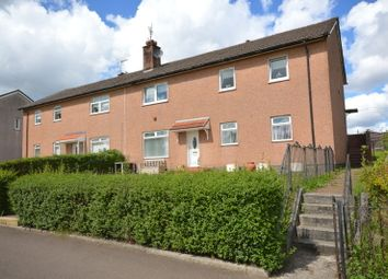 Thumbnail 3 bed flat for sale in Dickens Avenue, Clydebank