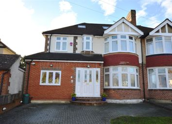 Thumbnail 5 bed semi-detached house for sale in Leyfield, Old Malden, Worcester Park