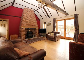 Thumbnail 4 bedroom barn conversion for sale in Plump Road, Tharston, Norwich