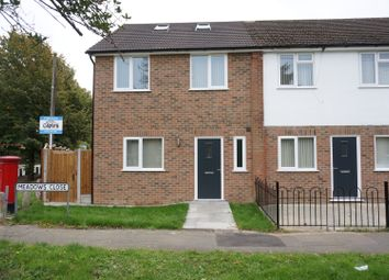 3 bed end terrace house for sale in Meadows Close, Ingrave, Brentwood CM13