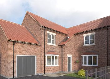 Thumbnail 4 bed detached house for sale in Plot 4, Holme Farm Court, Main Street, Beeford, Driffield
