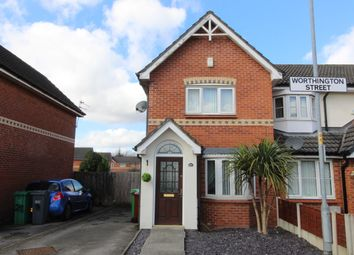 Thumbnail 2 bedroom end terrace house for sale in Worthington Street, Moston, Manchester