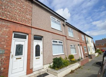 Thumbnail 2 bed terraced house for sale in Willaston Road, Moreton, Wirral