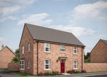 "Thumbnail 4 bed detached house for sale in ""The Bicton S 3rd Edition"" at Attley Way, Irthlingborough, Wellingborough"