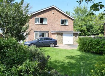 Thumbnail 4 bed detached house for sale in Station Road, Hibaldstow, Brigg