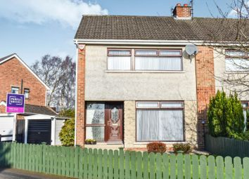 Thumbnail 3 bedroom semi-detached house for sale in Whitla Road, Lisburn