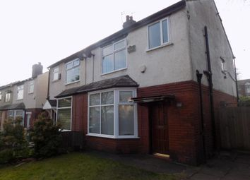Thumbnail 3 bedroom semi-detached house to rent in Rishton Lane, Bolton