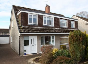 Thumbnail 3 bed semi-detached house for sale in Gillbrae Crescent, Dumfries