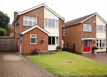 Thumbnail 3 bed detached house for sale in Fosbrooke Close, Ravenstone