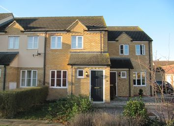Thumbnail 2 bed end terrace house to rent in Siskin Close, Royston