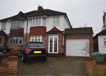 Thumbnail 3 bed semi-detached house to rent in Mortimer Crescent, Worcester Park