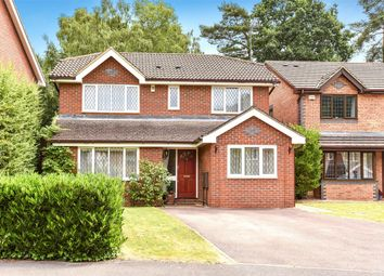 Thumbnail 4 bed detached house for sale in Lupin Ride, Crowthorne