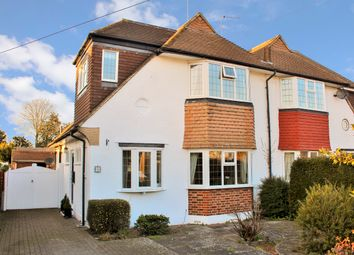 Thumbnail 3 bed semi-detached house for sale in Portway, Ewell Village