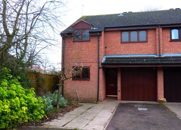 Thumbnail 3 bed semi-detached house for sale in Nuffield Close, Worcester