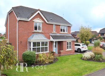 Thumbnail 4 bed detached house for sale in Muirfield Close, Euxton, Chorley